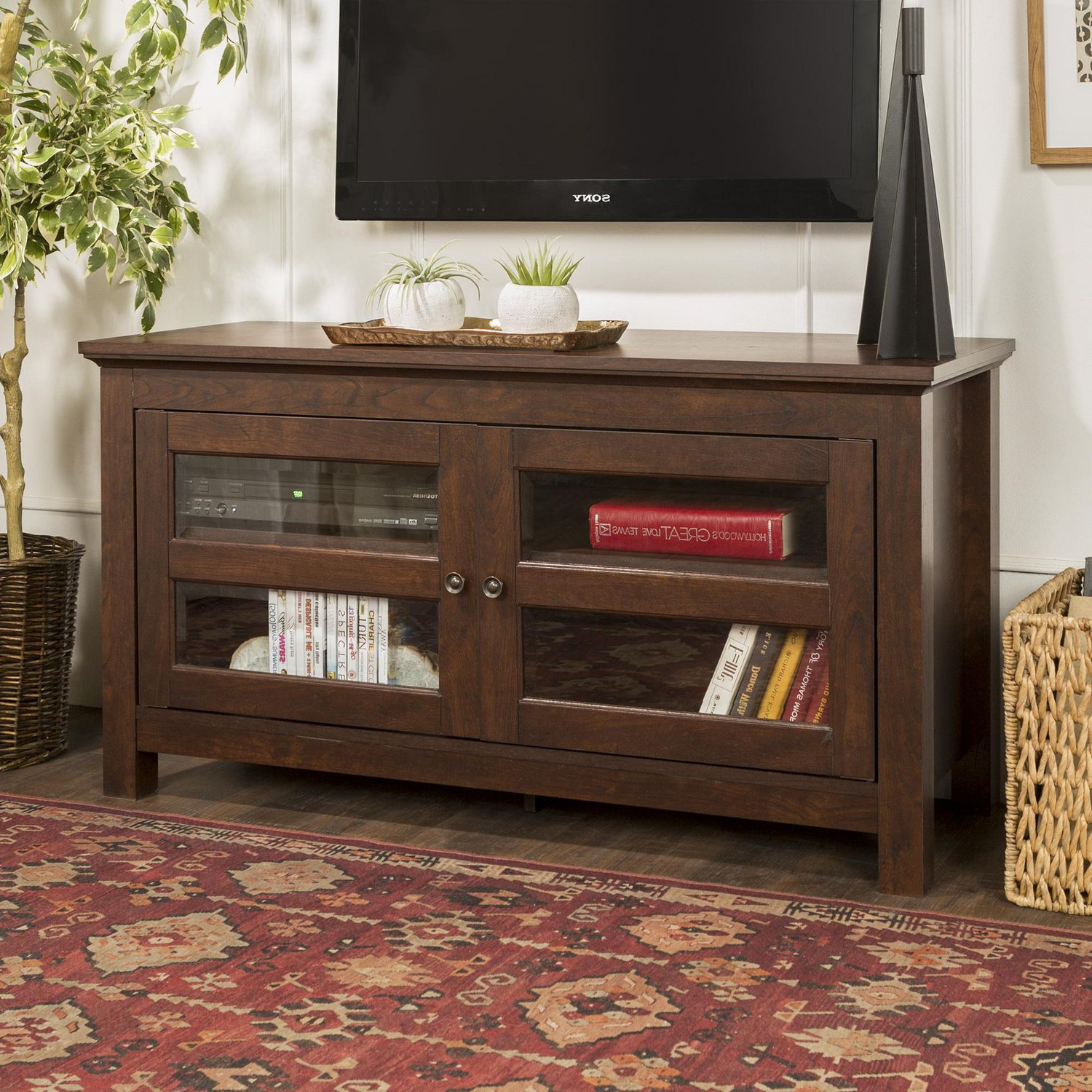 """Favorite Antea Tv Stands For Tvs Up To 48"""" For Manor Park Simple Wood Tv Stand For Tv's Up To  (View 11 of 25)"""