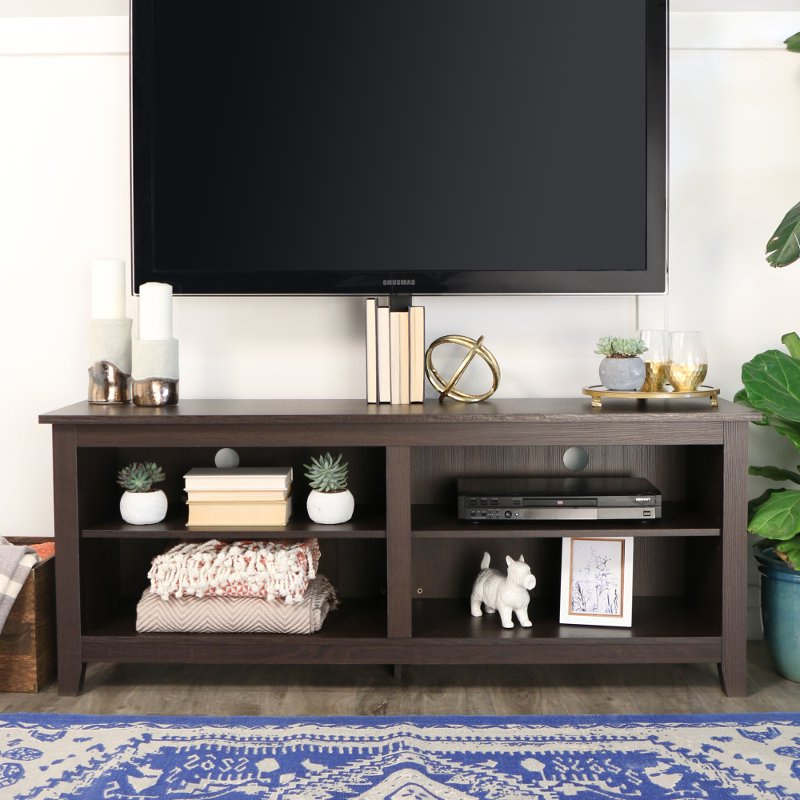 Favorite Fulton Corner Tv Stands Inside Transitional Style Tv Stand – Best Home Style Inspiration (View 7 of 10)