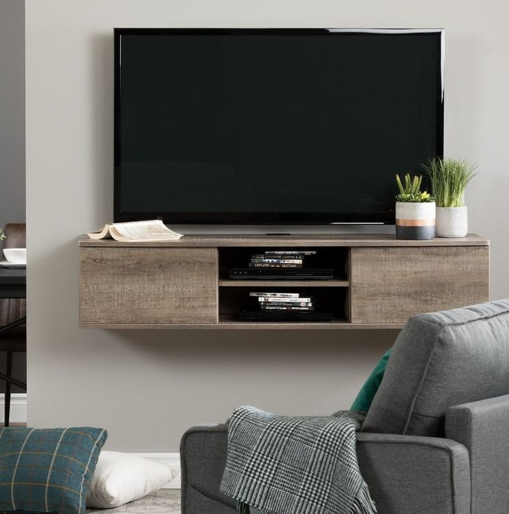 """Favorite Karon Tv Stands For Tvs Up To 65"""" Within Agora Floating Mount Tv Stand For Tvs Up To 65"""" (View 8 of 25)"""