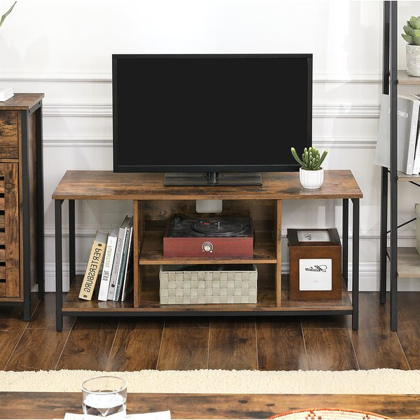 """Favorite Loon Peak® Leonid Tv Stand For Tvs Up To 49"""" & Reviews With Oglethorpe Tv Stands For Tvs Up To 49"""" (View 1 of 25)"""