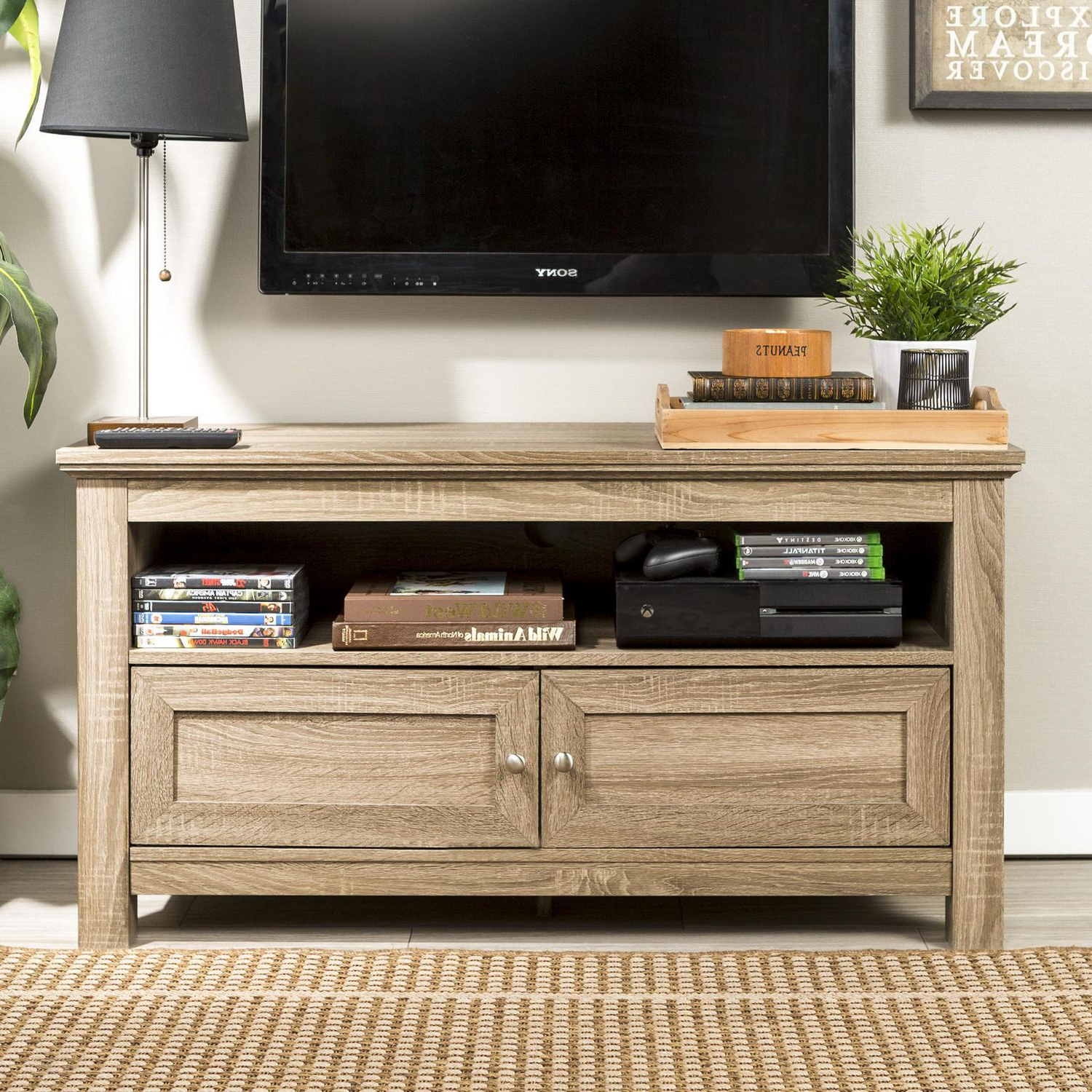 """Favorite Manor Park Simple Rustic Tv Stand For Tv's Up To 48 With Regard To Antea Tv Stands For Tvs Up To 48"""" (View 1 of 25)"""