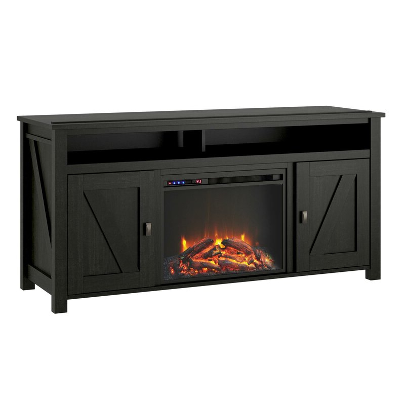"""Favorite Mistana™ Whittier Tv Stand For Tvs Up To 65"""" With Electric Pertaining To Lorraine Tv Stands For Tvs Up To 60"""" With Fireplace Included (View 25 of 25)"""