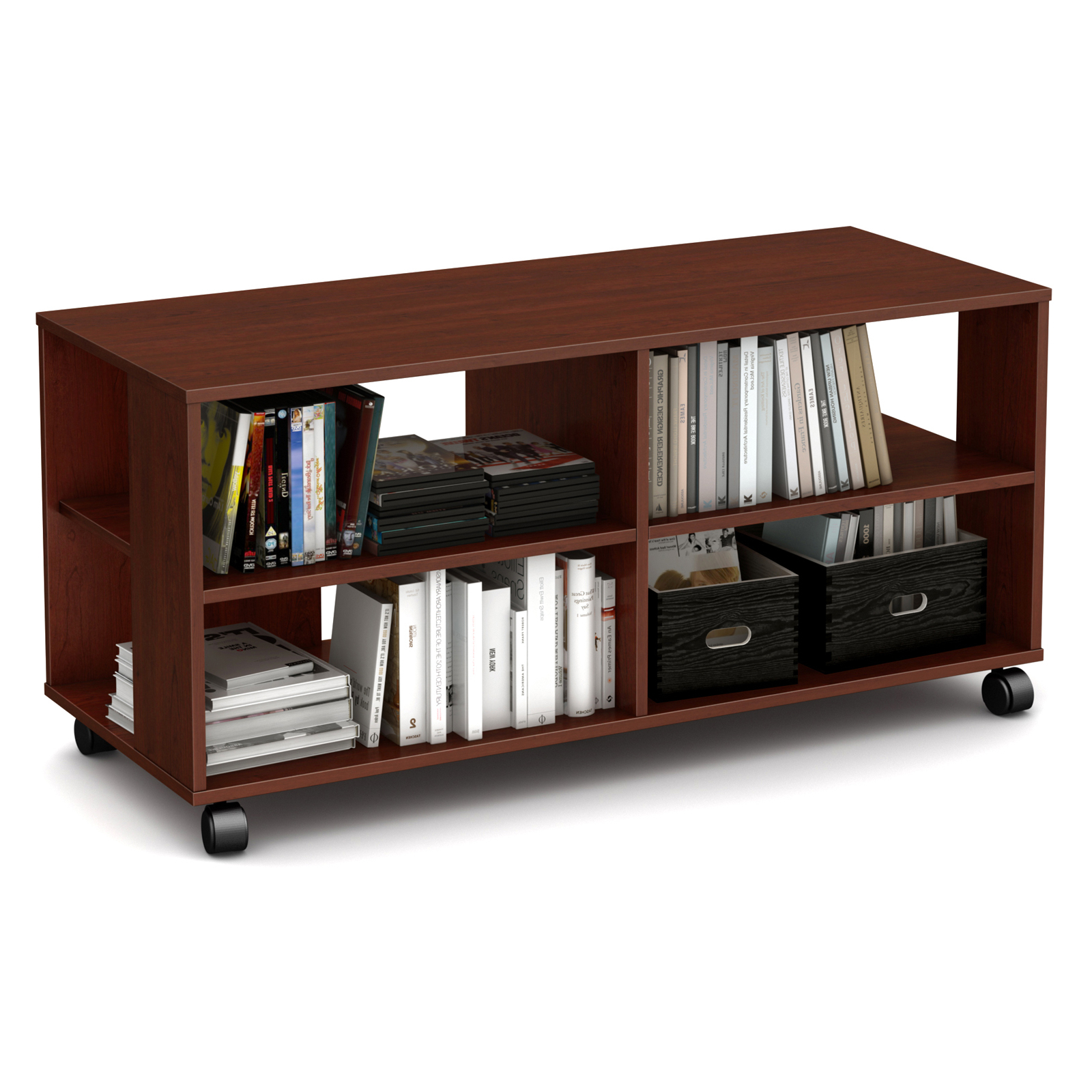Favorite South Shore Jambory Tv Stand With Casters – Tv Stands At With Regard To Modern Black Tv Stands On Wheels (View 8 of 10)