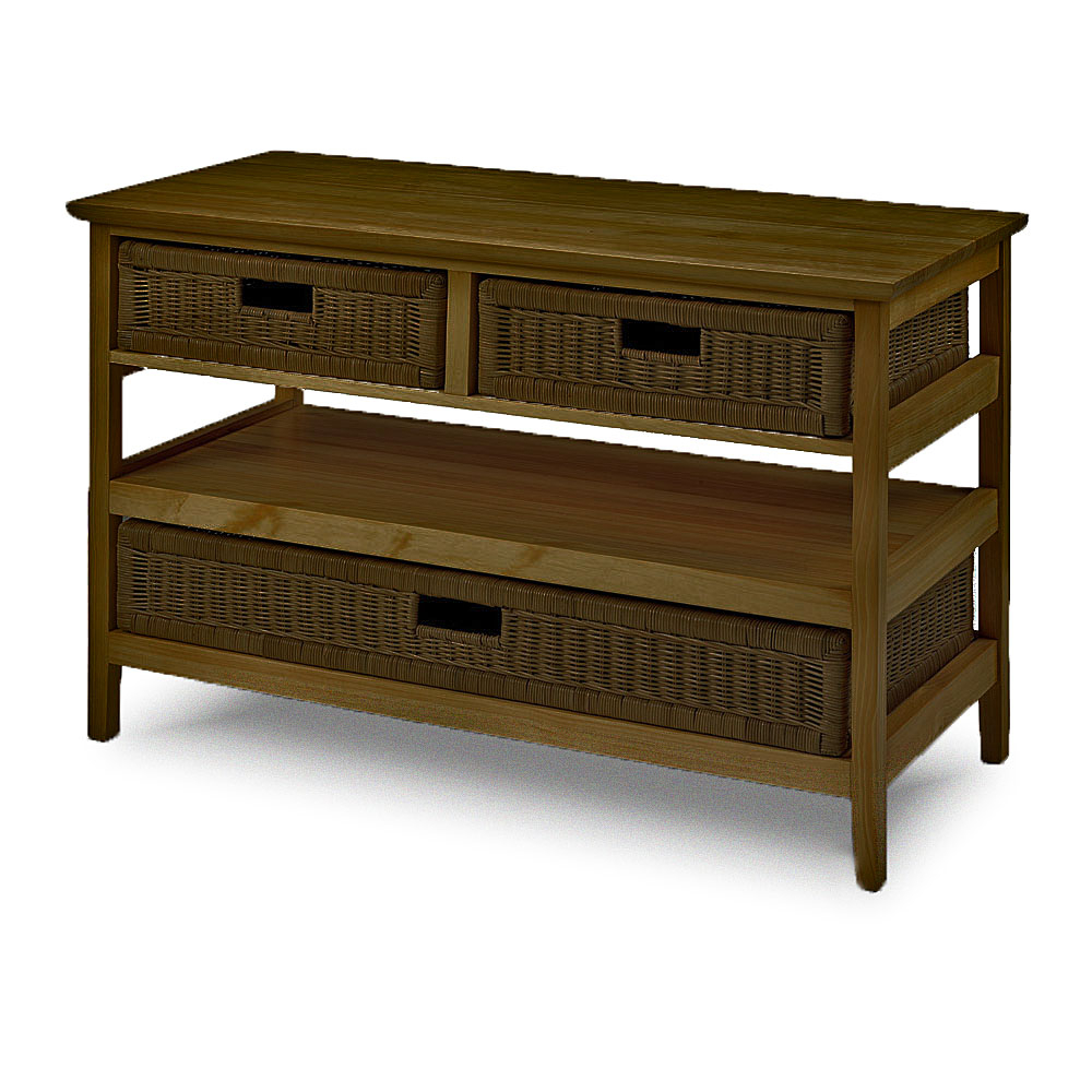 Favorite Wicker Storage Tv Unit – Television Stand – Conservatory Pertaining To Lucy Cane Cream Corner Tv Stands (View 4 of 25)