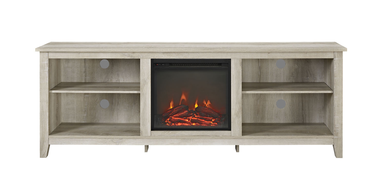 Fireplace Tv Stand Oak (View 3 of 10)