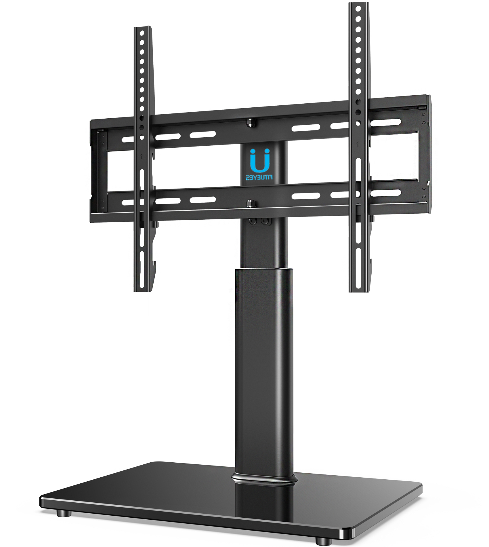 """Fitueyes Universal Tv Stand Tabletop Base With Swivel Inside Most Current Adayah Tv Stands For Tvs Up To 60"""" (View 18 of 25)"""