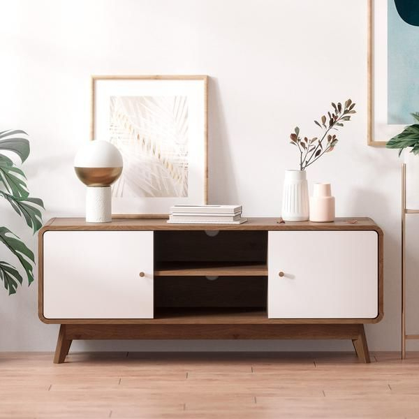 Freya Wide Tv Stands For Famous Tv Cabinet Entertainment Unit (freya Collection) In  (View 5 of 10)