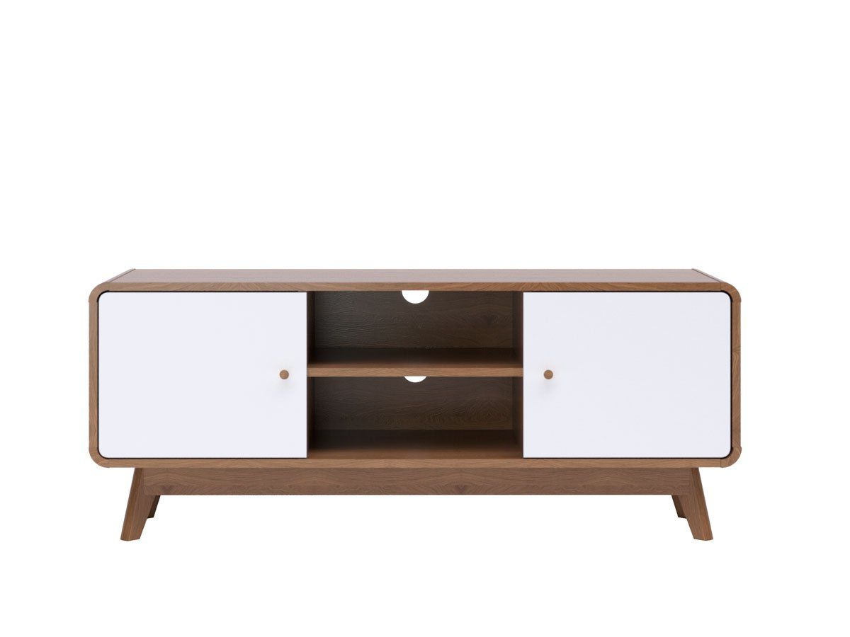 Freya Wide Tv Stands With Widely Used Tv Cabinet Entertainment Unit (freya Collection) (View 7 of 10)