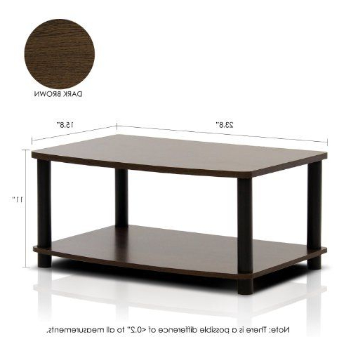 Furinno 2 Tier Elevated Tv Stands Pertaining To 2018 Furinno Turn N Tube No Tools 2 Tier Elevated Tv Stand (View 4 of 10)