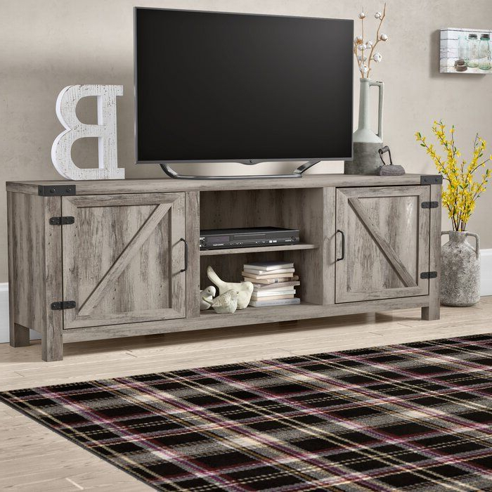 Furniture In Well Known Tv Stands In Rustic Gray Wash Entertainment Center For Living Room (View 6 of 10)