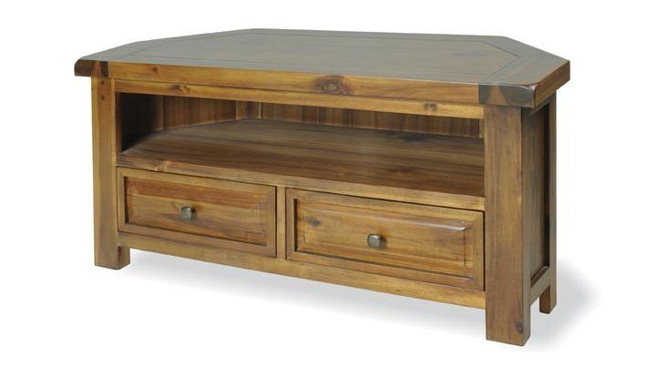 Furniture, Oak Corner Tv Unit (View 19 of 25)