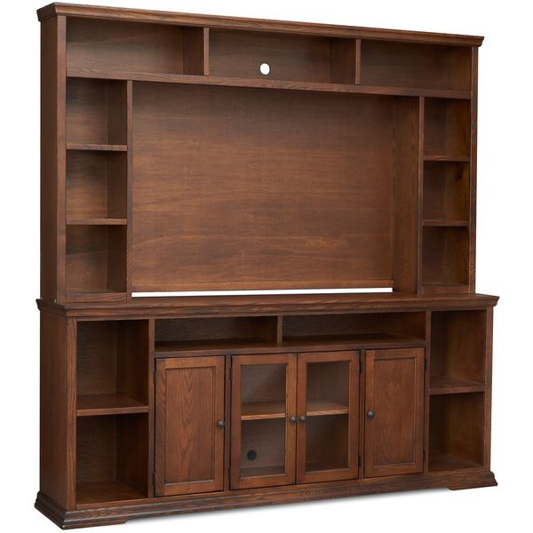 Furniture With Canyon Oak Tv Stands (View 2 of 10)