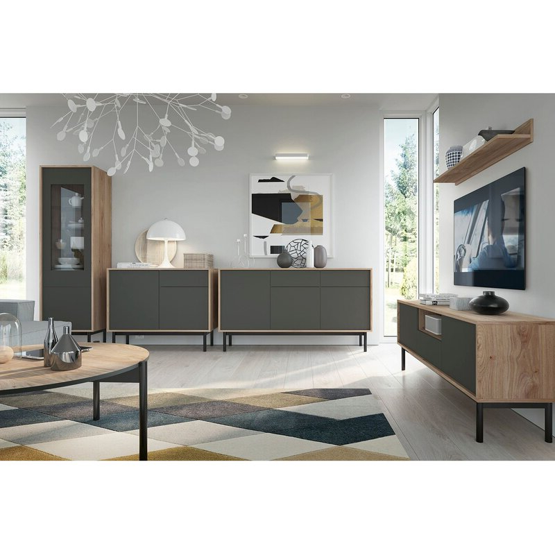 """George Oliver Cassidy Tv Stand For Tvs Up To 65"""" & Reviews Inside Latest Caleah Tv Stands For Tvs Up To 65"""" (View 23 of 25)"""