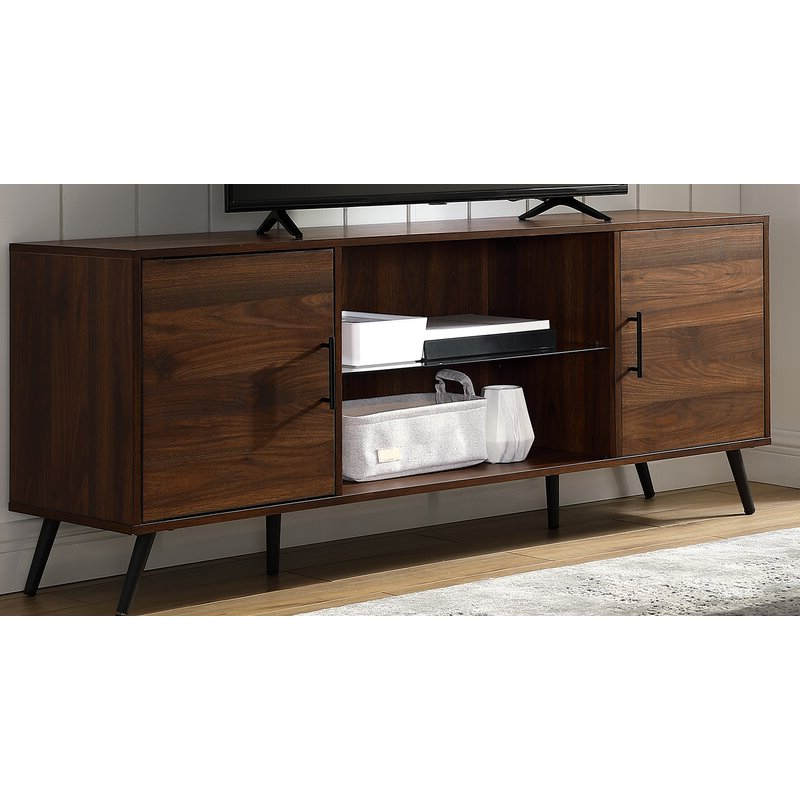 """George Oliver Glenn Tv Stand For Tvs Up To 65"""" & Reviews Inside 2018 Tv Stands For Tvs Up To 65"""" (View 17 of 22)"""