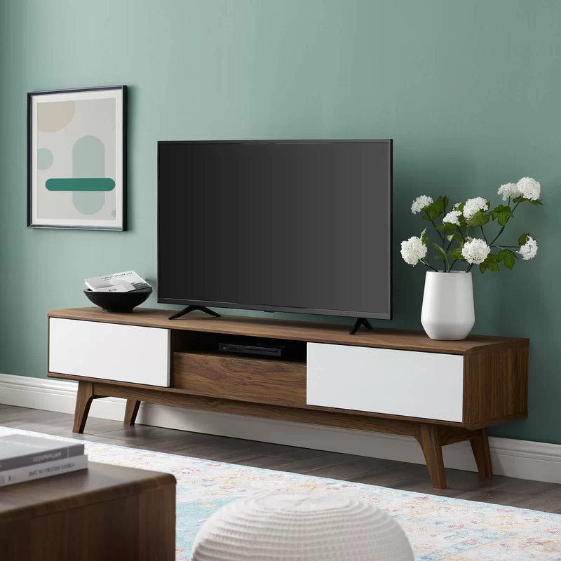 """George Oliver Grabowski Tv Stand For Tvs Up To 70 In Well Known Chrissy Tv Stands For Tvs Up To 75"""" (View 21 of 25)"""