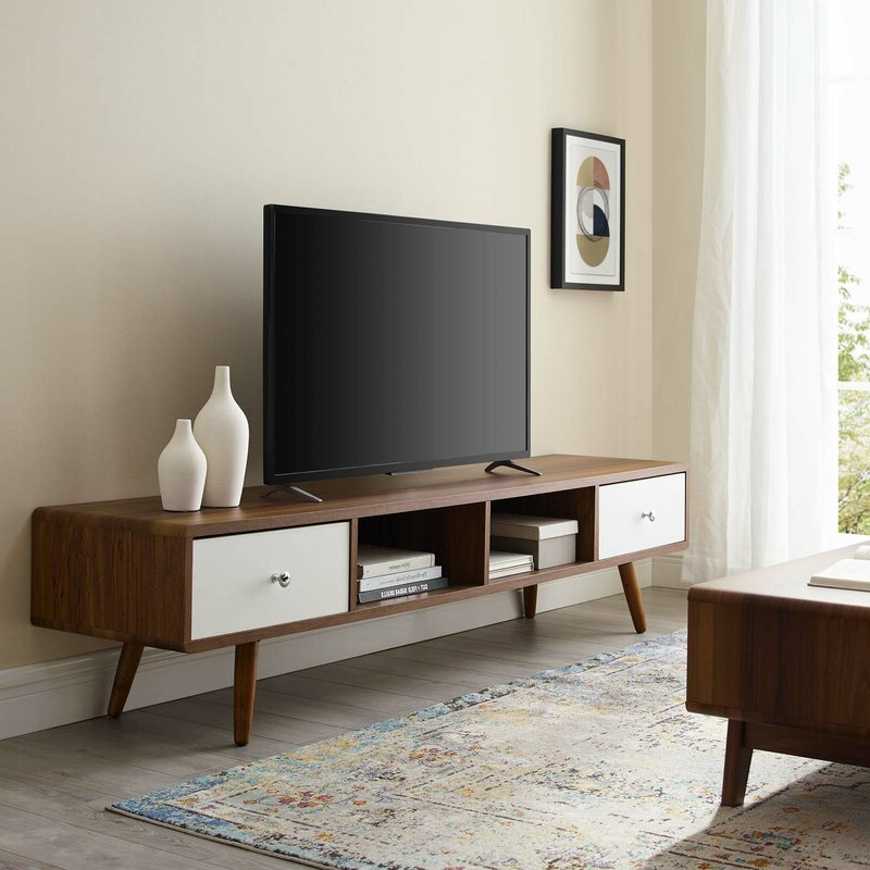 """George Oliver Wightman Tv Stand For Tvs Up To 78 Pertaining To Well Known Grandstaff Tv Stands For Tvs Up To 78"""" (View 13 of 25)"""