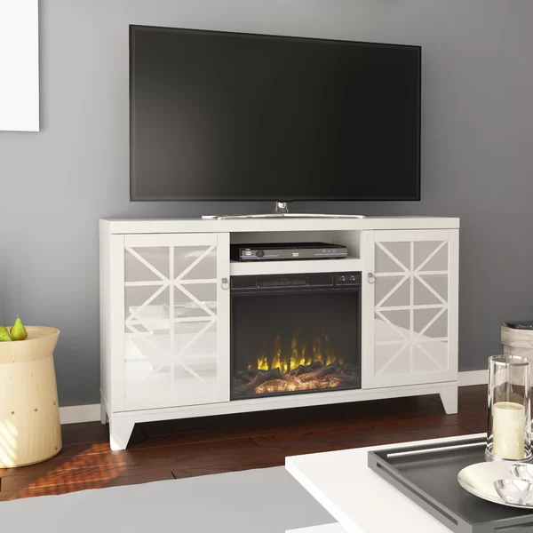 """Gerde Tv Stand For Tvs Up To 65"""" With Fireplace Included Intended For Preferred Totally Tv Stands For Tvs Up To 65"""" (View 16 of 25)"""