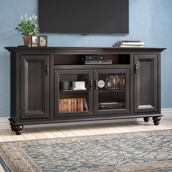 """Gosnold Tv Stands For Tvs Up To 88"""" For Newest Darby Home Co Velarde Solid Wood Tv Stand For Tvs Up To  (View 6 of 25)"""