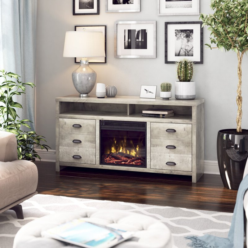 """Gracie Oaks Morrell Tv Stand For Tvs Up To 60"""" With With Regard To Trendy Millen Tv Stands For Tvs Up To 60"""" (View 24 of 25)"""