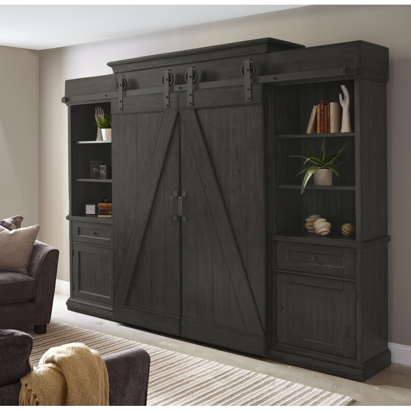 """Gracie Oaks Viviane Solid Wood Entertainment Center For Pertaining To Newest Griffing Solid Wood Tv Stands For Tvs Up To 85"""" (View 19 of 25)"""