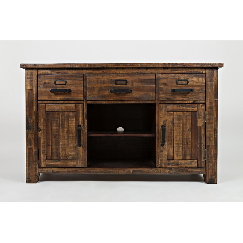 """Granada Solid Wood Tv Stand For Tvs Up To 65 Inches In Widely Used Giltner Solid Wood Tv Stands For Tvs Up To 65"""" (View 9 of 25)"""