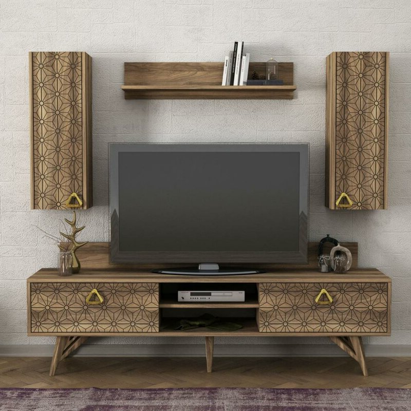 """Grandstaff Tv Stands For Tvs Up To 78"""" Intended For Famous Corrigan Studio® Herod Tv Stand For Tvs Up To 78"""" (View 1 of 25)"""
