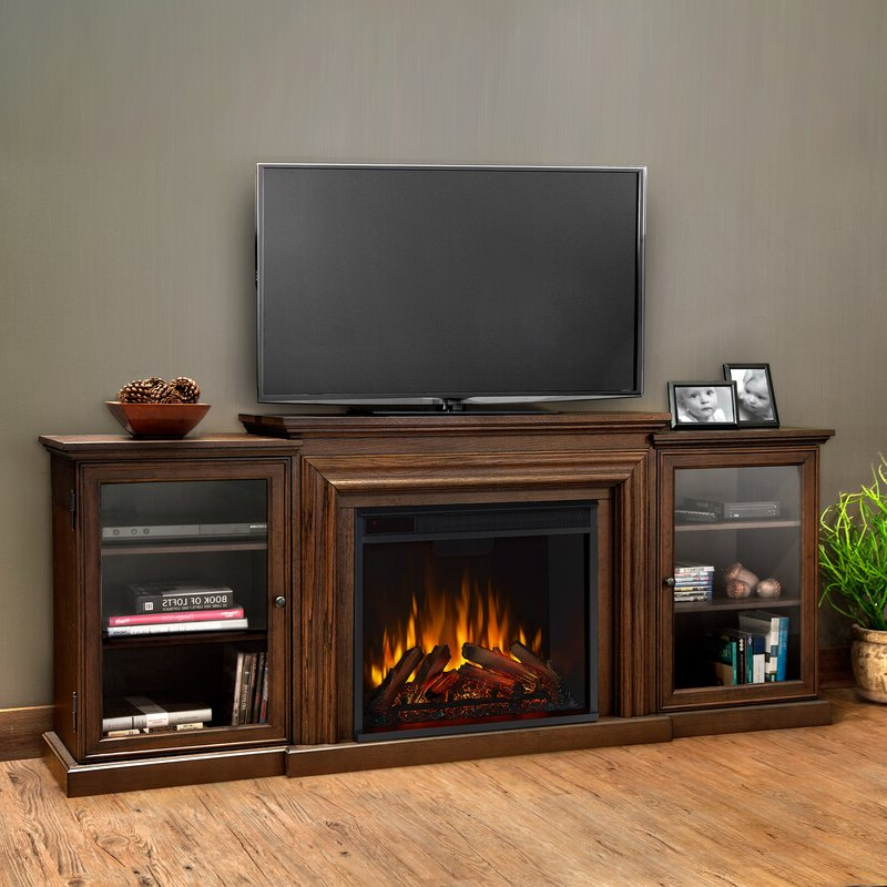 """Grandstaff Tv Stands For Tvs Up To 78"""" With Trendy Real Flame Frederick Tv Stand For Tvs Up To 78"""" With (View 5 of 25)"""