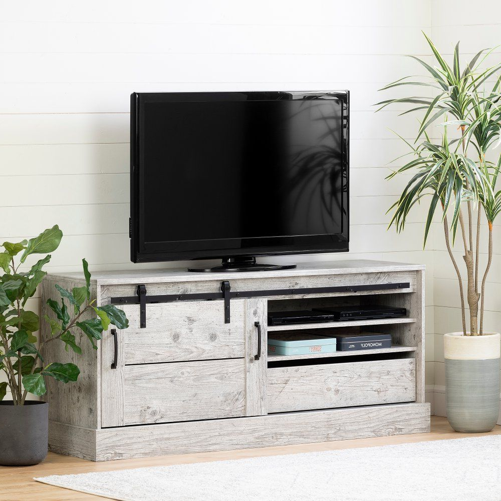 """Grenier Tv Stands For Tvs Up To 65"""" With Well Liked 65 Inch Seaside Pine Tv Stand – Harma (View 6 of 25)"""
