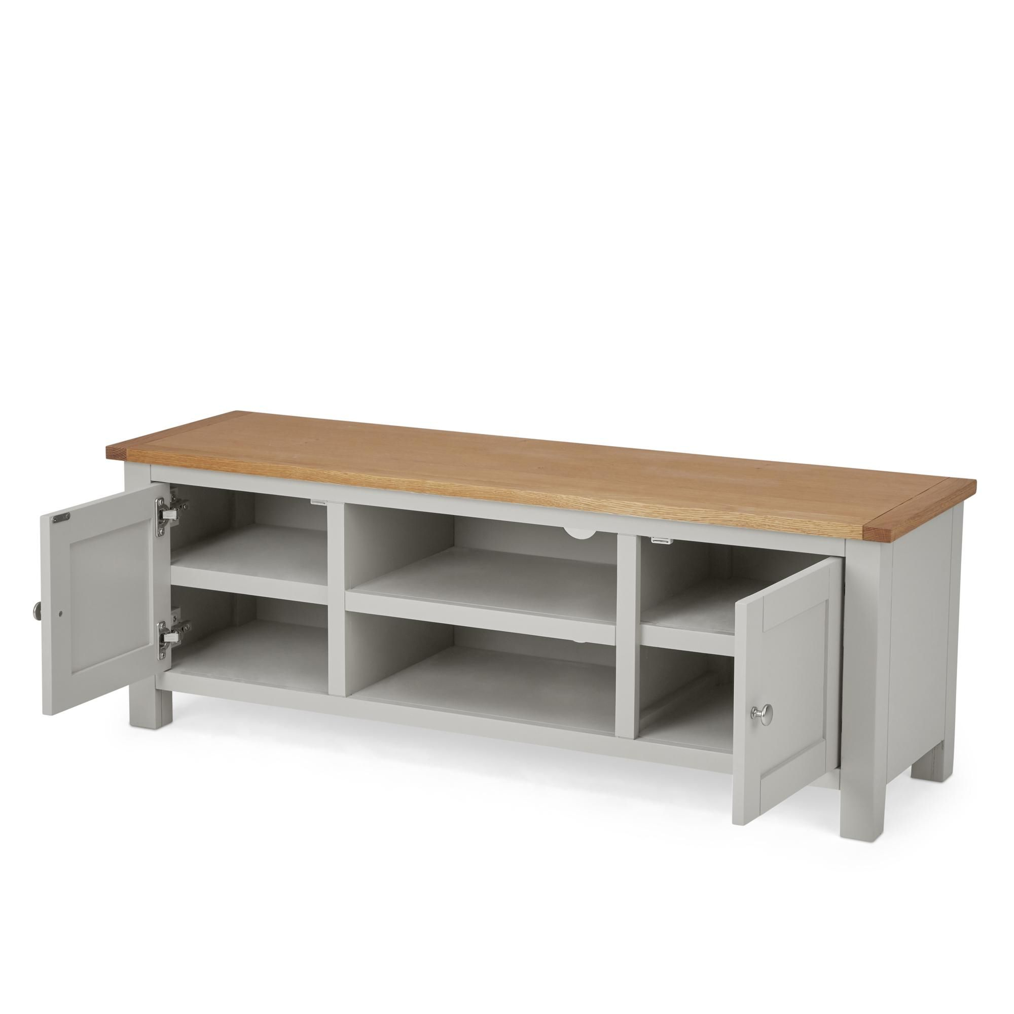 Grey Tv Unit, Grey Tv Stand (View 13 of 25)