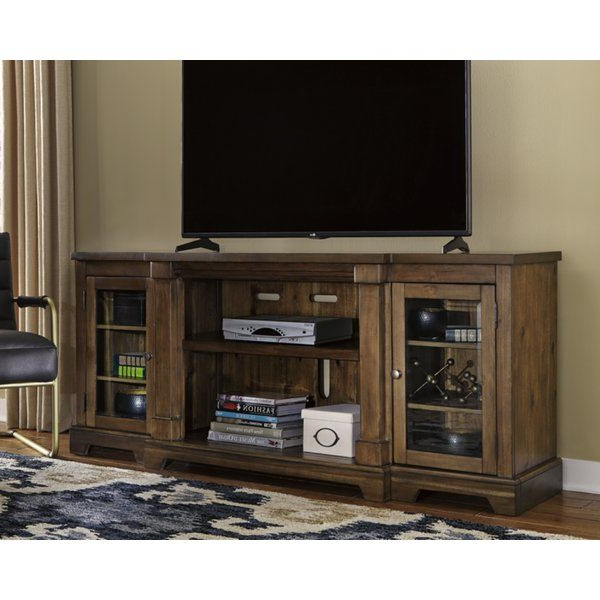 """Griffing Solid Wood Tv Stands For Tvs Up To 85"""" Inside Famous Penwortham Tv Stand For Tvs Up To 85"""" (View 2 of 25)"""