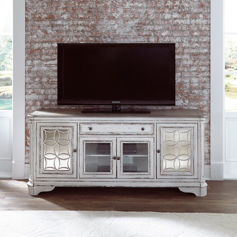 """Griffing Solid Wood Tv Stands For Tvs Up To 85"""" Throughout Most Current One Allium Way Tavant Tv Stand For Tvs Up To 75"""" & Reviews (View 5 of 25)"""