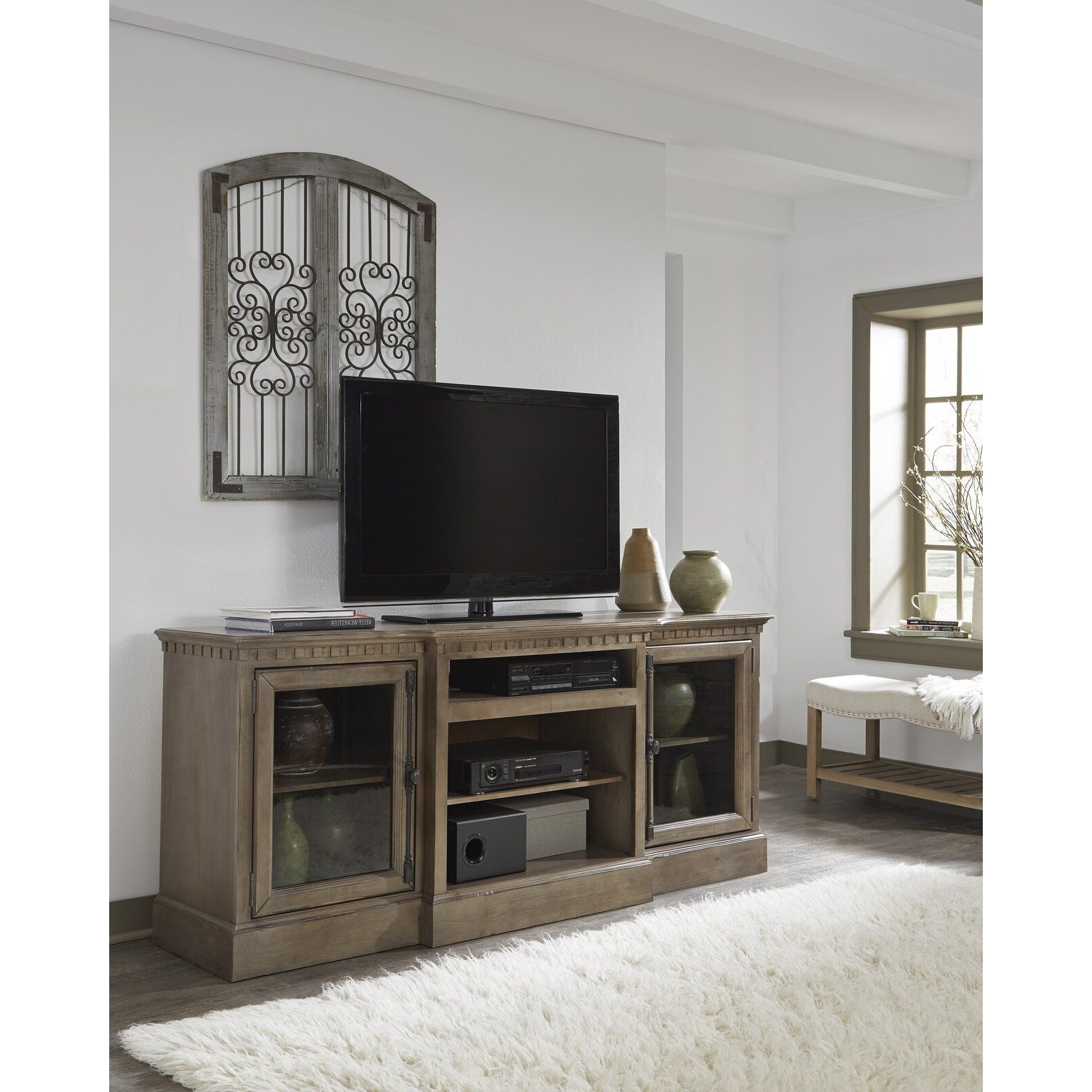 """Griffing Solid Wood Tv Stands For Tvs Up To 85"""" With Trendy Greyleigh Marbleton Tv Stand For Tvs Up To 70"""" & Reviews (View 16 of 25)"""