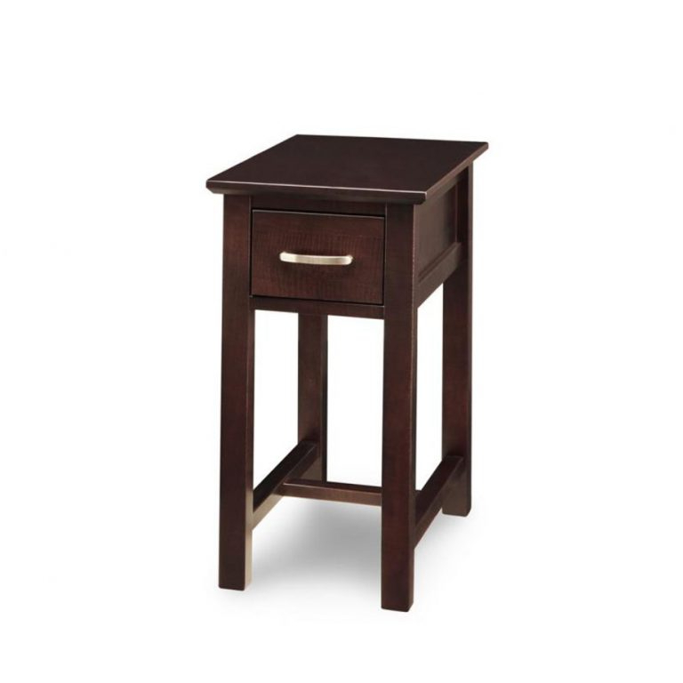 Hanna Oyster Wide Tv Stands In Well Known Brooklyn Chairside Table – Solid Wood Custom Built (View 7 of 10)