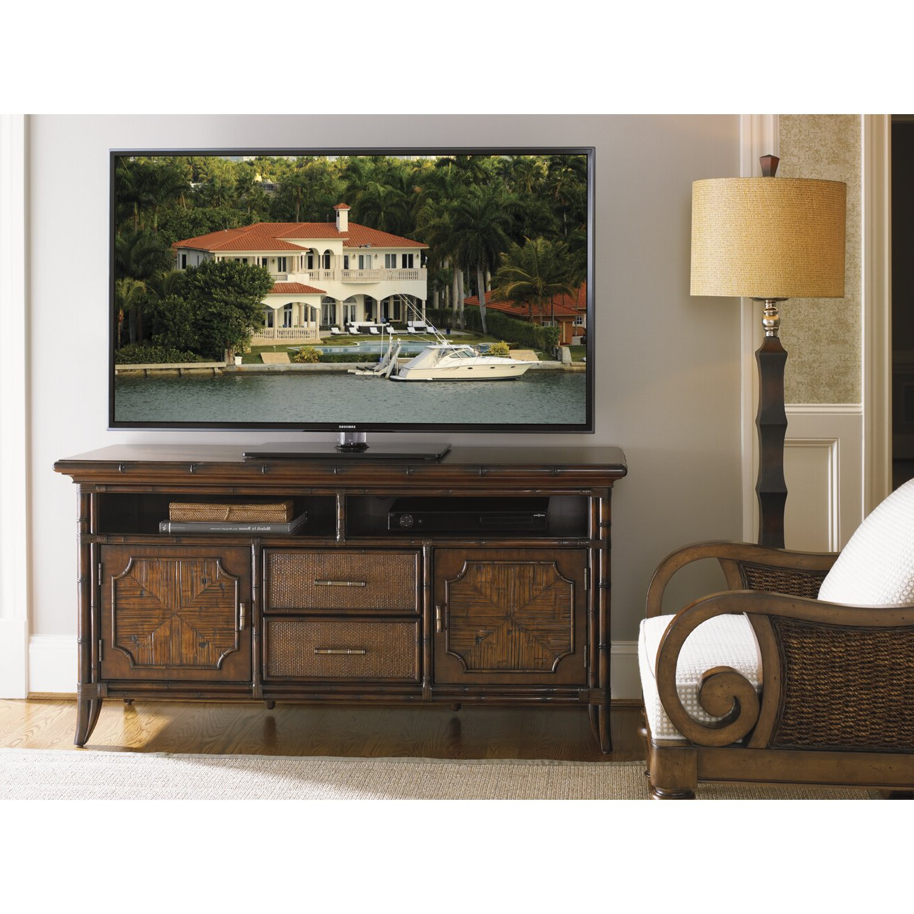 Harbor Wide Tv Stands Regarding Well Known Sligh Bal Harbor Crystal Bay Tv Stand (View 6 of 25)