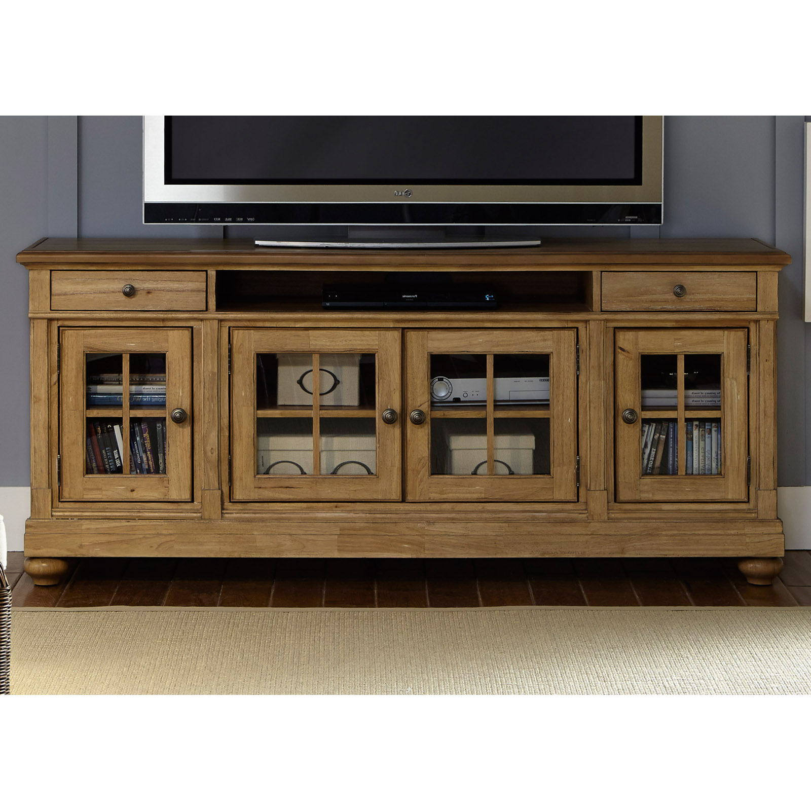 Harbor Wide Tv Stands Throughout Latest Liberty Furniture Harbor View Tv Stand – Tv Stands At (View 10 of 25)