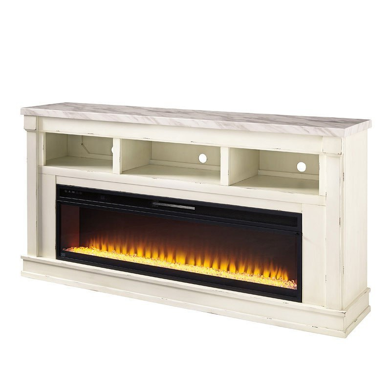 Harbor Wide Tv Stands With Latest Becklyn Extra Large Tv Stand W/ Wide Fireplace Signature (View 25 of 25)