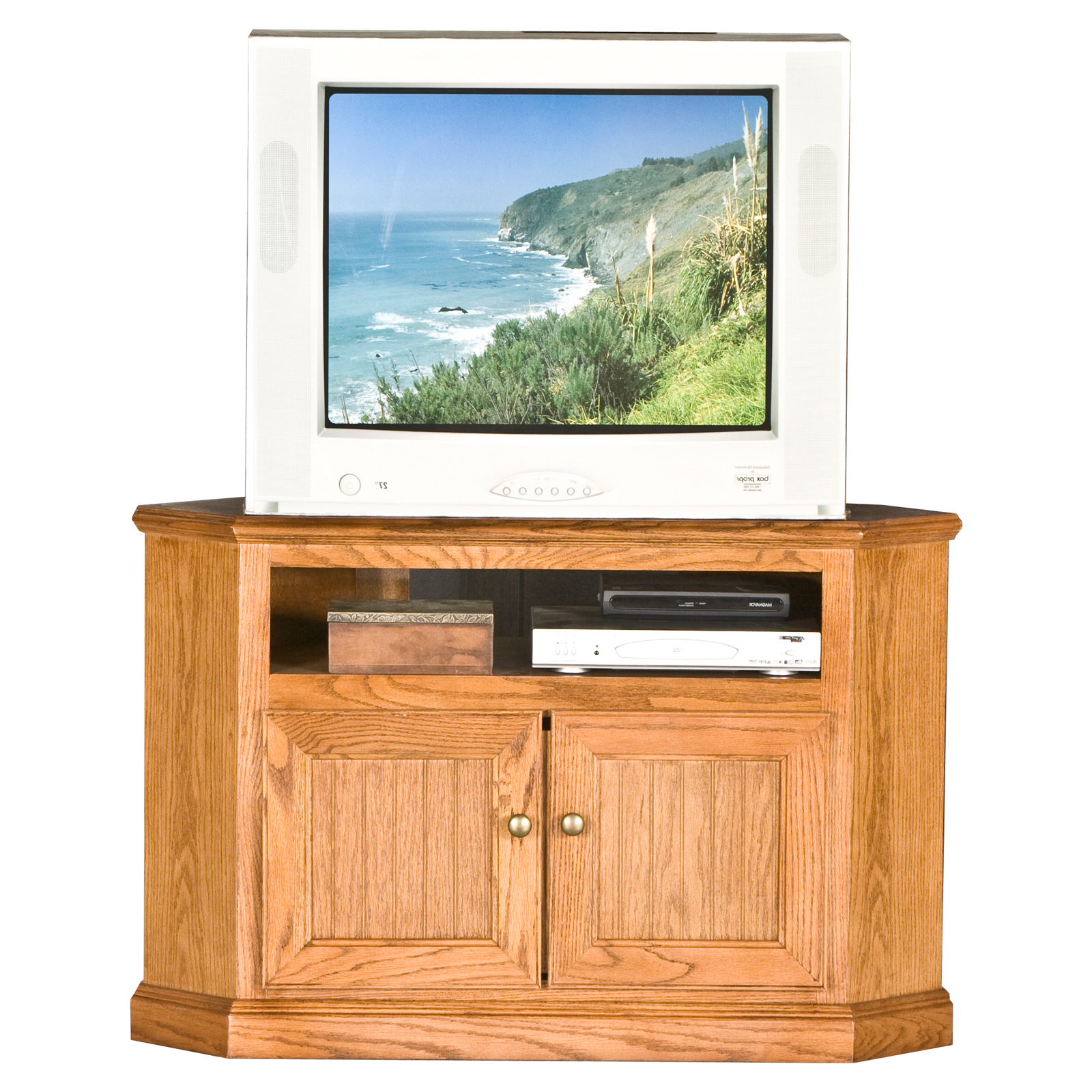 Hex Corner Tv Stands For 2018 Eagle Furniture Heritage Customizable 41 In (View 22 of 25)
