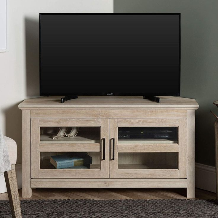 Home Accent Furnishings New 44 Inch Corner Television Regarding Fashionable Bromley Oak Corner Tv Stands (View 5 of 10)