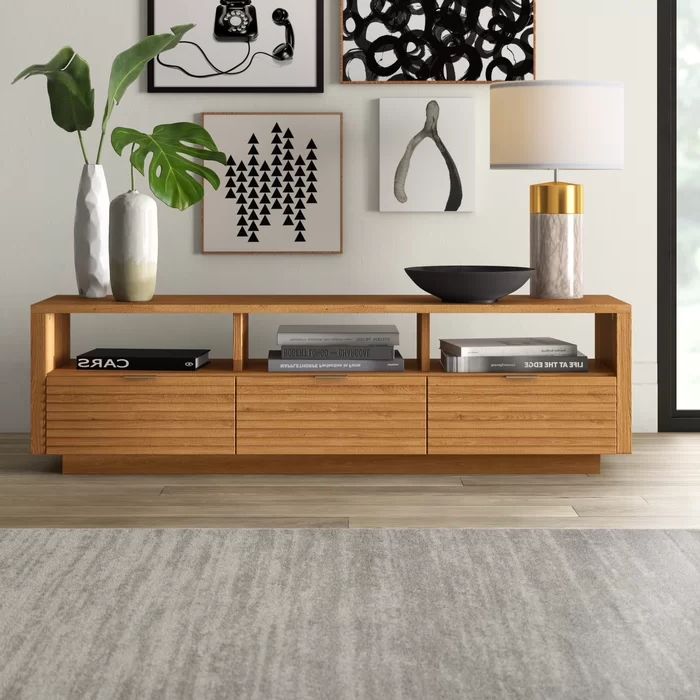 """Home Decor, Furniture Pertaining To Grandstaff Tv Stands For Tvs Up To 78"""" (View 12 of 25)"""