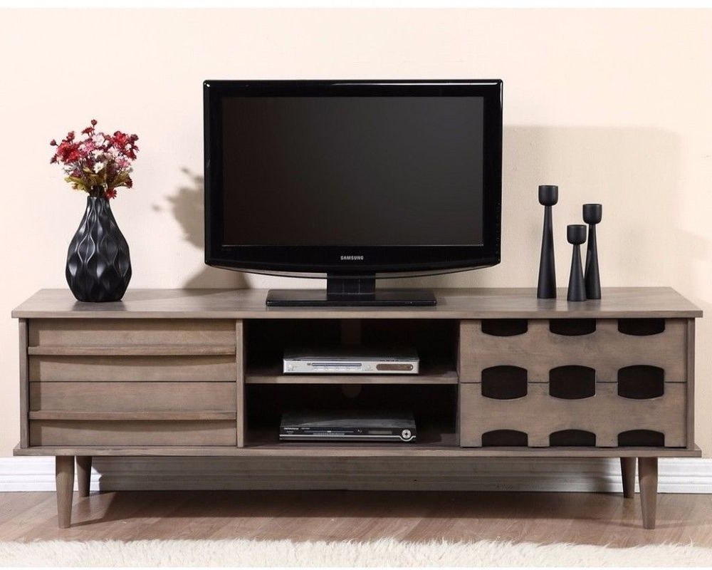 Horizontal Or Vertical Storage Shelf Tv Stands For Best And Newest Vanda Entertainment Center 70 Inch Tv Stand With  (View 5 of 10)