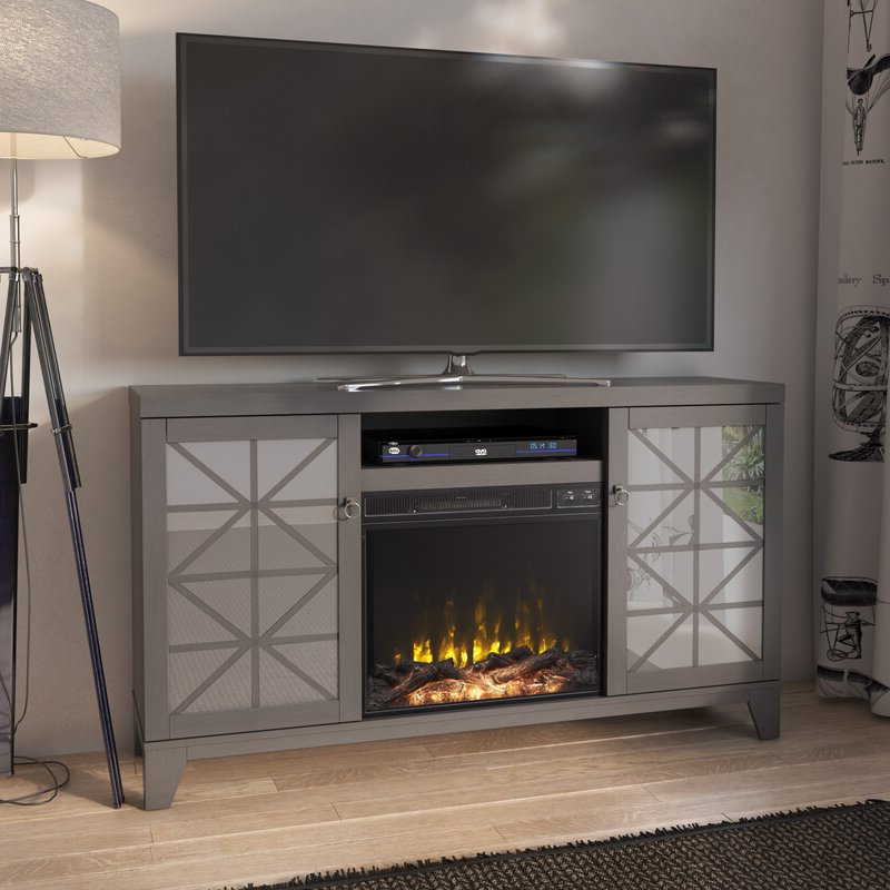 """House Of Hampton® Gerde Tv Stand For Tvs Up To 65"""" With With Regard To Trendy Rickard Tv Stands For Tvs Up To 65"""" With Fireplace Included (View 24 of 25)"""