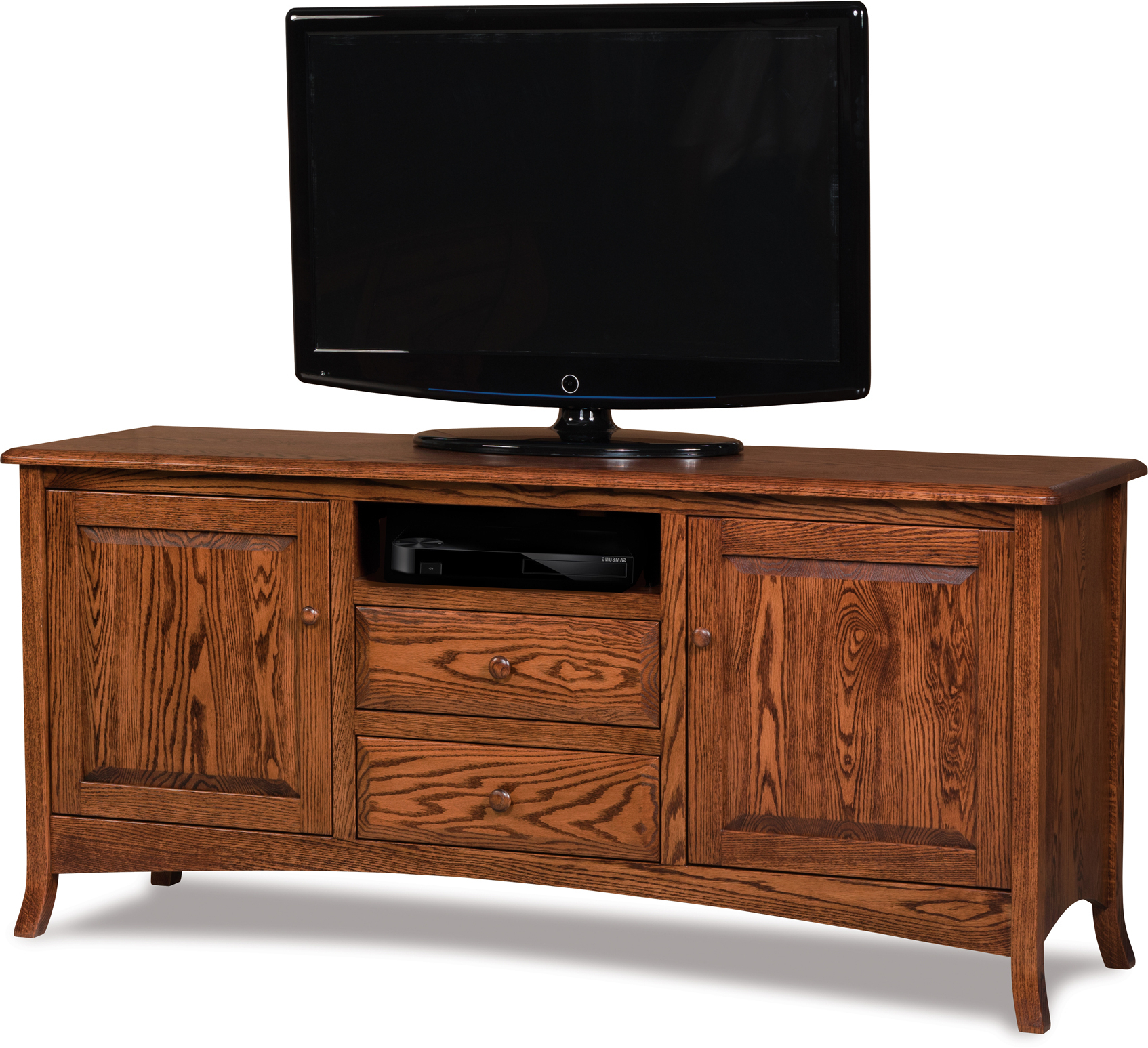 Indiana Amish Carlisle Within Manhattan 2 Drawer Media Tv Stands (View 9 of 25)