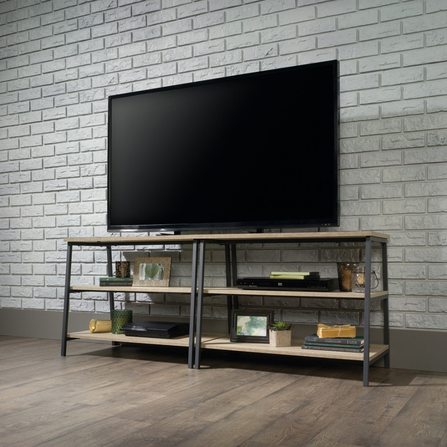 """Industrial Style Tv Stand Pertaining To Current Casey May Tv Stands For Tvs Up To 70"""" (View 2 of 25)"""