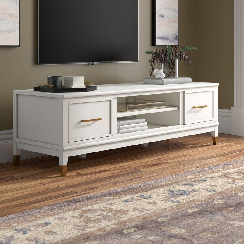 """Jowers Tv Stands For Tvs Up To 65"""" Throughout Latest Westerleigh Tv Stand For Tvs Up To 65"""" & Reviews (View 8 of 25)"""