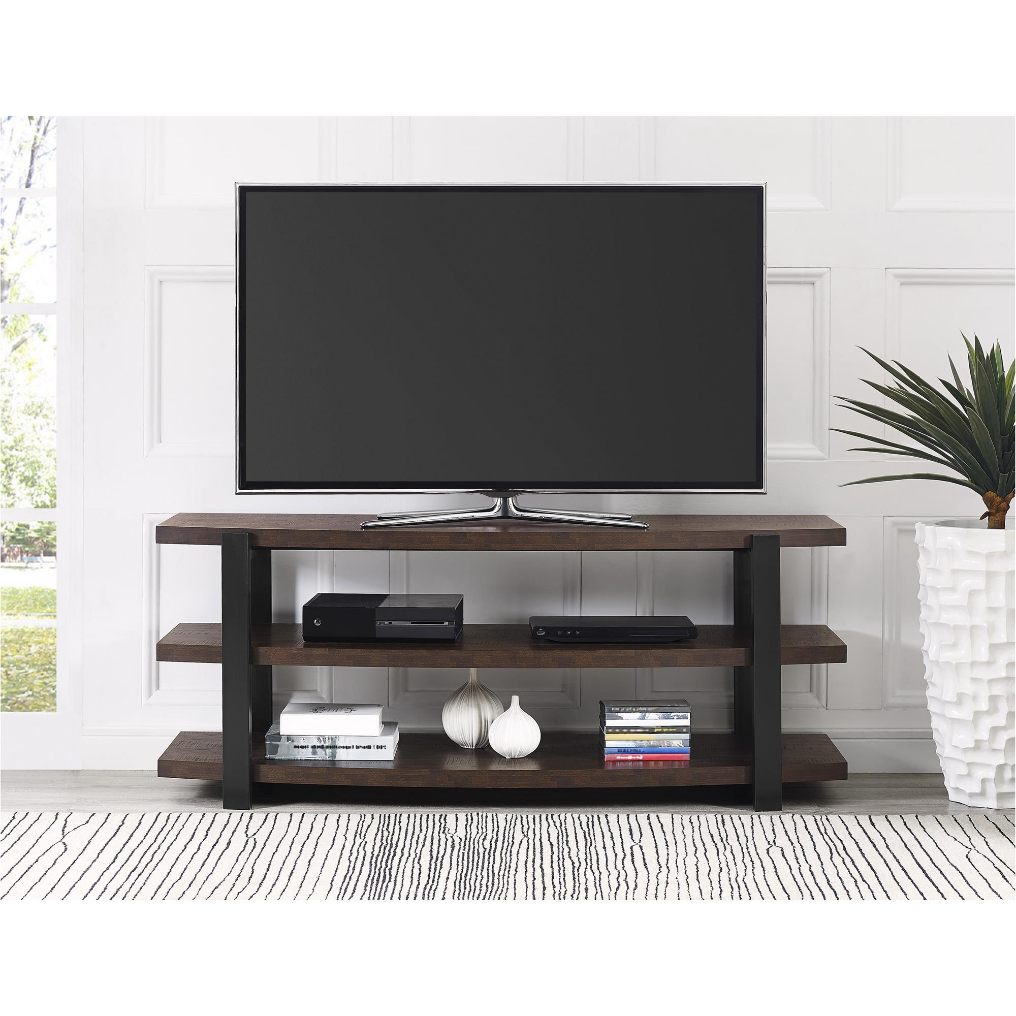 """Kinsella Tv Stands For Tvs Up To 70"""" With Regard To Recent Ameriwood Home Garon Tv Stand For Tvs Up To 70"""", Multiple (View 8 of 25)"""