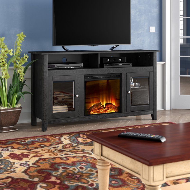 """Kohn Tv Stand For Tvs Up To 65"""" With Fireplace Included For Favorite Valenti Tv Stands For Tvs Up To 65"""" (View 12 of 25)"""