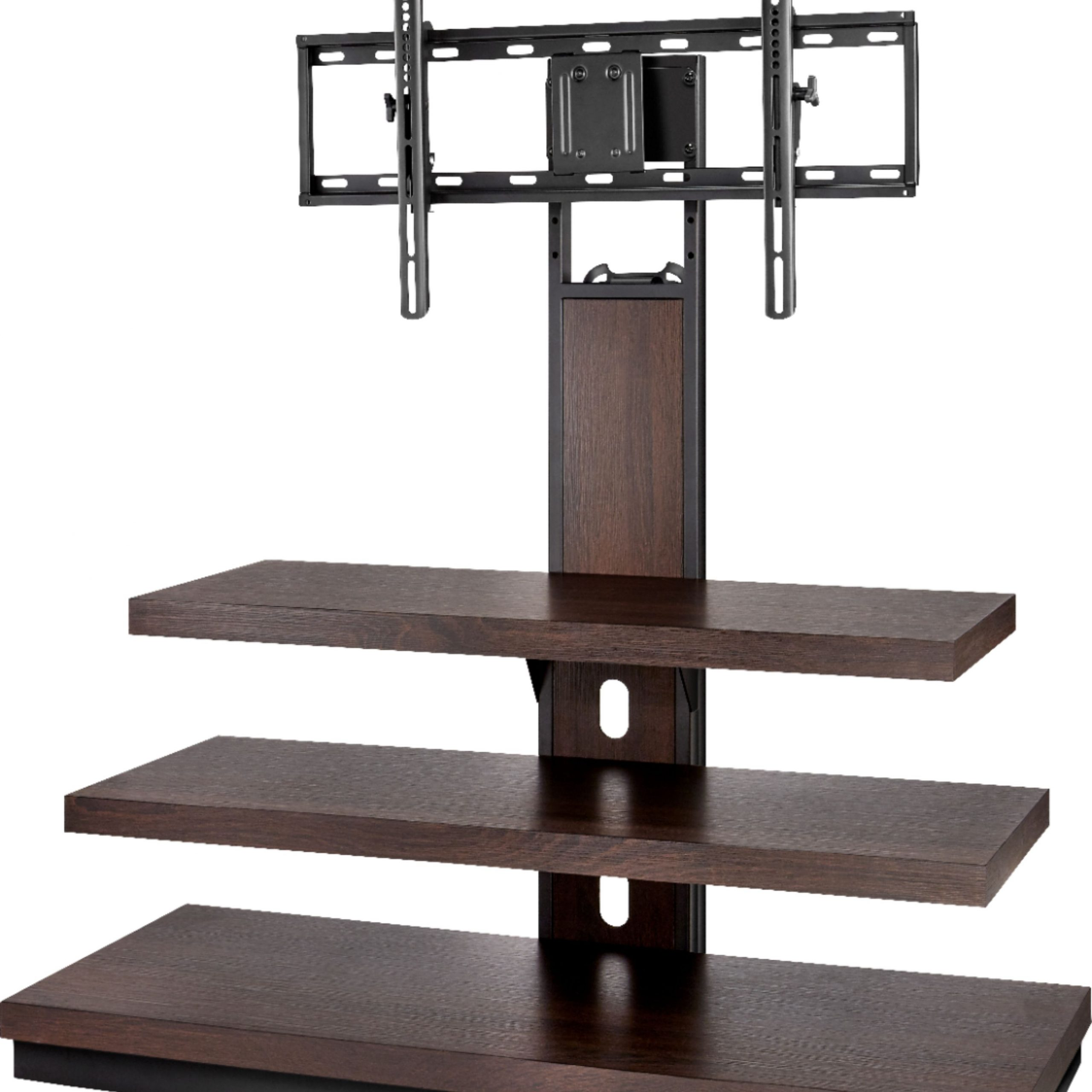 """Lansing Tv Stands For Tvs Up To 55"""" For Most Up To Date Insignia™ Tv Stand For Most Flat Panel Tvs Up To 55"""" Dark (View 20 of 25)"""
