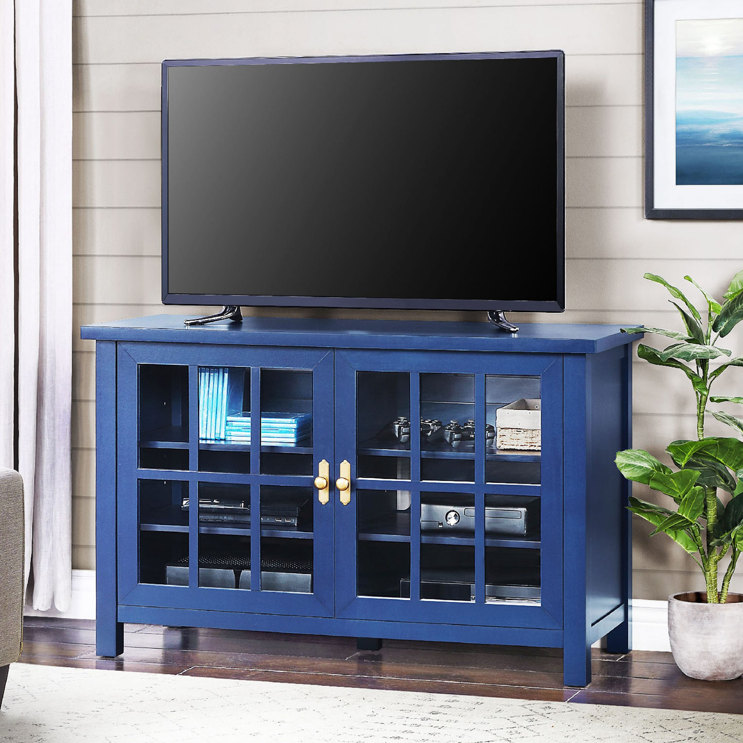 """Lansing Tv Stands For Tvs Up To 55"""" Inside 2017 Better Homes & Gardens Oxford Square Tv Stand For Tvs Up (View 12 of 25)"""