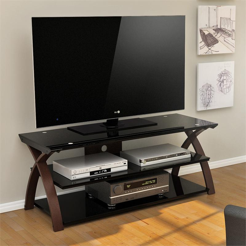 """Lansing Tv Stands For Tvs Up To 55"""" Inside 2018 Z Line Willow 55 Inch Tv Stand Zl0292 55su (View 14 of 25)"""