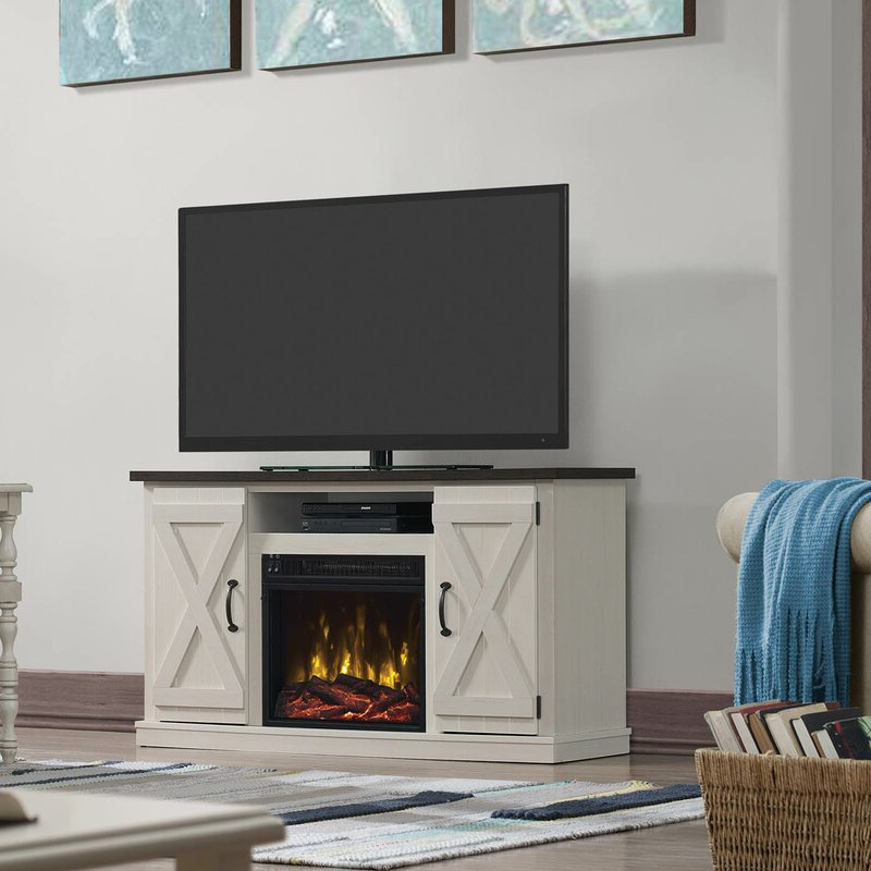 """Lansing Tv Stands For Tvs Up To 55"""" Intended For Widely Used Laurel Foundry Modern Farmhouse Lorraine Tv Stand For Tvs (View 3 of 25)"""